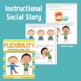 Social Story: Flexibility When Plans Change - a complete unit