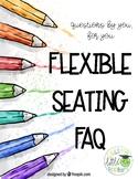 Flexible/Alternative Seating FAQ