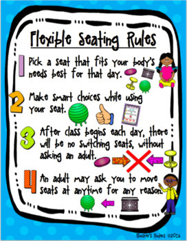 Flexible / Alternative Seating Rules - 11 Poster BUNDLE!