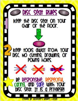 Flexible / Alternative Seating Rules - 16 Poster BUNDLE!