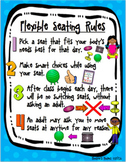Flexible / Alternative Seating Rules - 16 Poster BUNDLE!