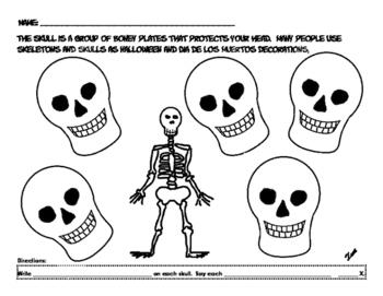 Flexible Articulation Sheets for Halloween set 1