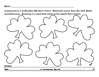 Flexible Articulation Sheets for Saint Patrick's Day