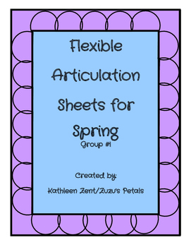 Flexible Articulation Sheets for Spring #1