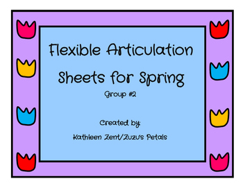 Flexible Articulation Sheets for Spring #2