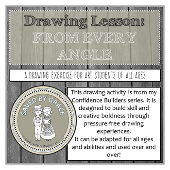 Flexible Drawing Lesson. Adaptable for all ages and abilities. No Prep activity