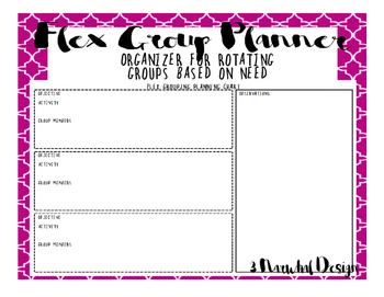 Flexible Grouping Planner