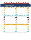 Flexible Groups Planning Mat