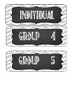 Flexible Learning Group Signs