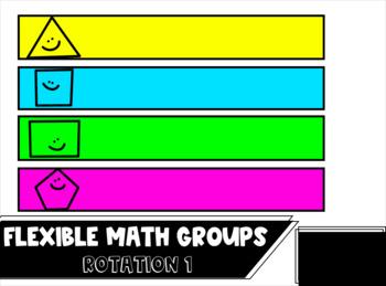 Flexible Math Grouping Slides