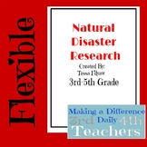 Flexible Natural Disaster Research Project