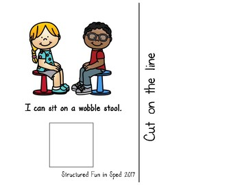 Flexible Seating Adapted Book