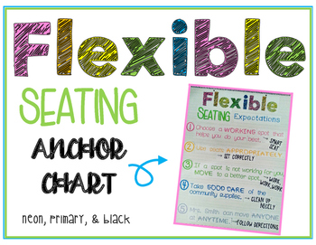 Flexible Seating Anchor Chart
