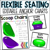 Flexible Seating Anchor Charts *Editable*