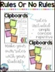 Editable Flexible Seating Anchor Charts
