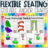 Editable Flexible Seating Anchor Charts