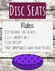 Flexible Seating Anchor Charts- Rustic Style