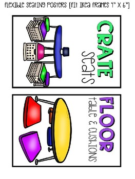 Flexible Seating BUNDLE (Editable)