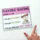 Flexible Seating Self Assessment (EDITABLE)