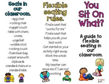 Flexible Seating Brochure (editable)