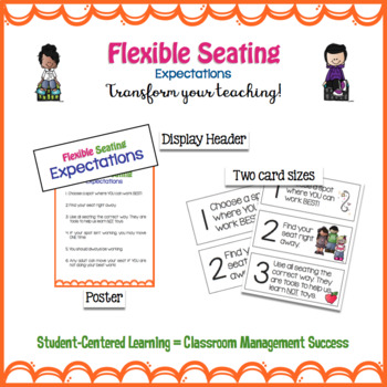 Flexible Seating *EDITABLE* Display Kit
