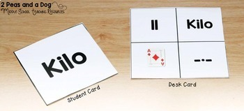 Flexible Seating Plan Choice Cards