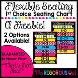 Flexible Seating Chart FREEBIE