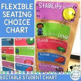 Flexible Seating Choice Chart