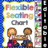Flexible Seating Chart Editable