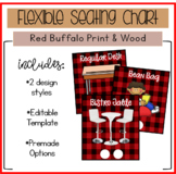 Flexible Seating Choice Chart/Management Tool (EDITABLE!)