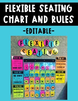 Flexible Seating Choice Chart and Rules