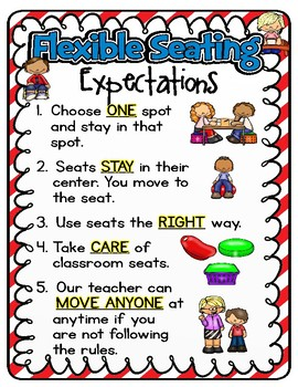 Flexible Seating Classroom Management {Seuss Inspired}