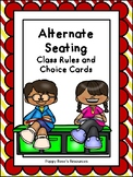 Flexible Seating - Classroom Rules posters and Seating Cho