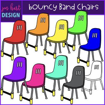 Flexible Seating Clip Art - Bouncy Band Chairs {jen hart Clip Art}