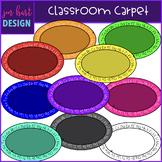 Flexible Seating Clip Art - Classroom Carpet {jen hart Clip Art}