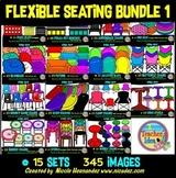 Flexible Seating Clip Art Mega Bundle 1