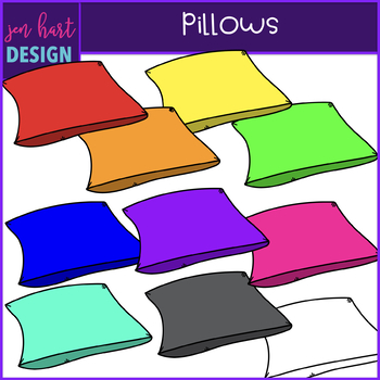 Flexible Seating Clip Art - Pillows {jen hart Clip Art)