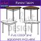 Flexible Seating Clip Art - Raised Tables {jen hart Clip Art)