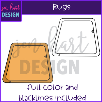 Flexible Seating Clip Art - Rugs {jen hart Clip Art}