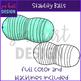 Flexible Seating Clip Art - Stability Balls {jen hart Clip Art}