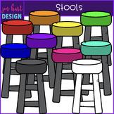 Flexible Seating Clip Art - Stools {jen hart Clip Art}