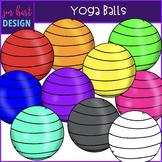Flexible Seating Clip Art - Yoga Balls {jen hart Clip Art}
