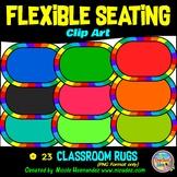 Flexible Seating Clip Art for Teachers - Classroom Rugs