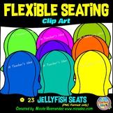 Flexible Seating Clip Art for Teachers - Jellyfish Seats