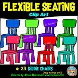 Flexible Seating Clip Art for Teachers - Kids Chairs