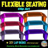 Flexible Seating Clip Art for Teachers - Lap Desks
