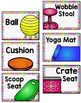 Flexible Seating Clip Chart