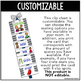 Flexible Seating Clip Chart {Customizable} 30 Seating Options