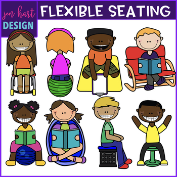 Flexible Seating Clip Art {jen hart Clip Art}