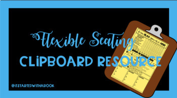 Flexible Seating Clipboard Resource